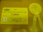 Third Prize for our Superior Goat cheese