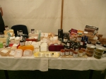 The Ribblesdale Cheese stand at Swinton Park
