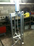 Our new press for mini cheeses