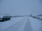 The road to work today