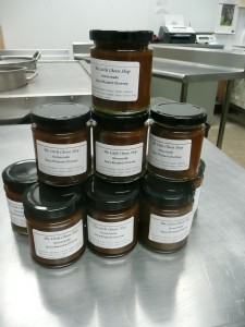 Stu's Rhubarb Chutney made with his dad's rhubarb