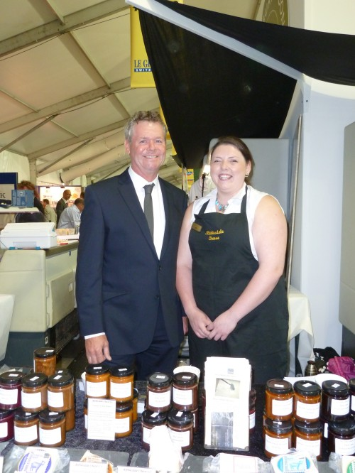 Mark Clegg with Lydia