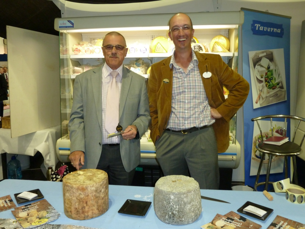 Adrian and Adrian of Fowlers Cheese