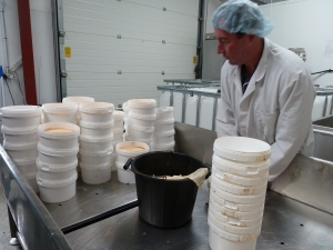 Stu potting out an awful lot of Tasty Yorkshire