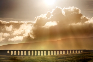 The Ribblehead Viaduct near where I live