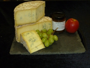 Natural Rinded Ribblesdale Blue Wensleydale
