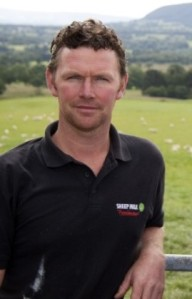Simon Stott, our ewe's milk supplier