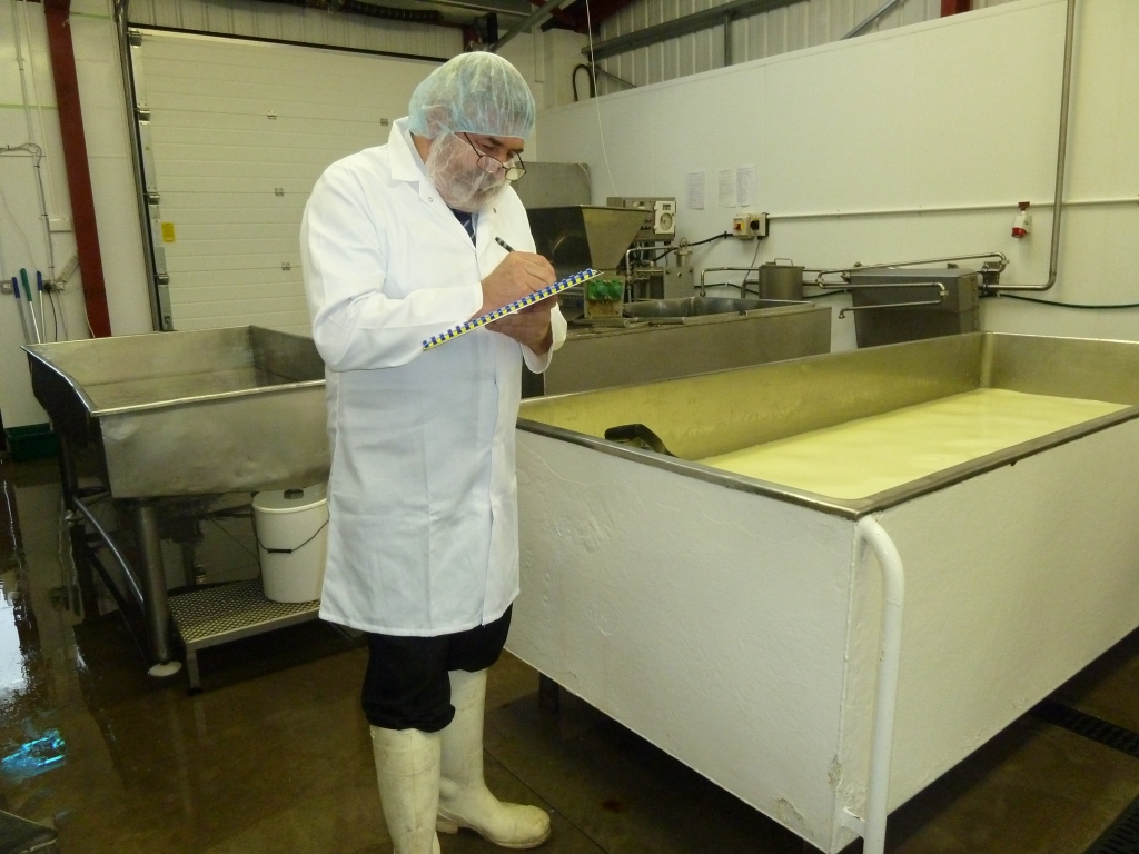 Philip Knight of Knight International in our little dairy