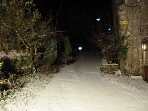 My drive at 11pm on Sunday 2nd December 2012