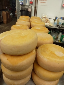 A mountain of Matured Goat cheese