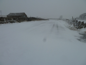 My road on Friday 22nd March 2013