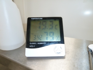And a record temperature in the dairy
