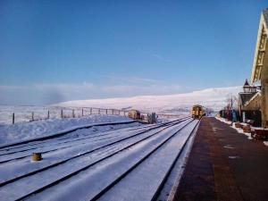 Train from Ribblehead to Leeds yesterday, 22nd Jan